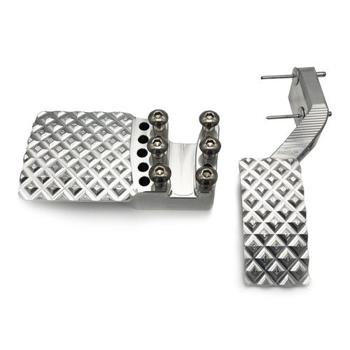 Brake- gas pedal kit for can am
