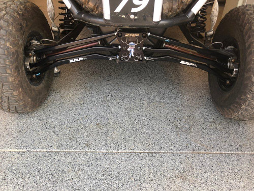 Radius rods 72 inch Set up
