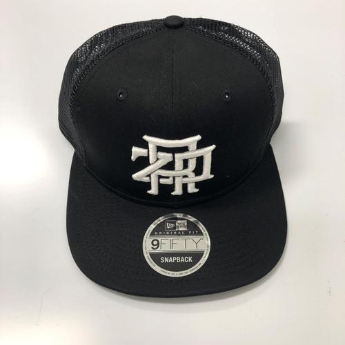 ZRP Monogram Snapback Hat - Black