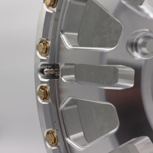 Can am x3 Beadlock Wheel up close