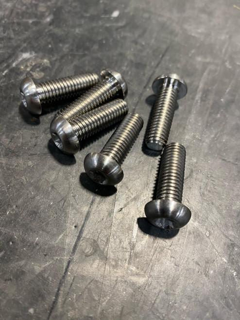 Titanium Governor cup bolt Set (6)