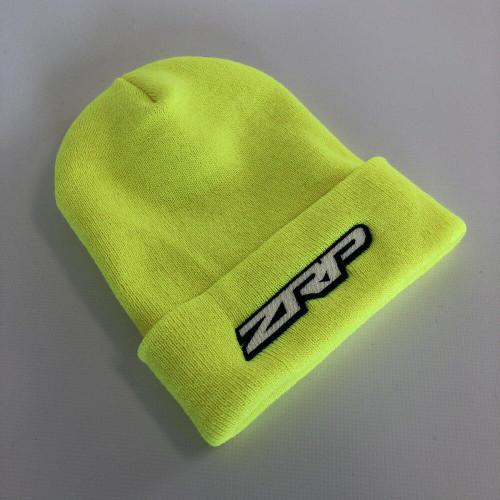 ZRP Cuff Beanie Flo Yellow