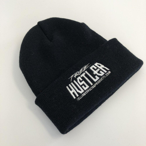 Tree Hustler Cuff Beanie Black
