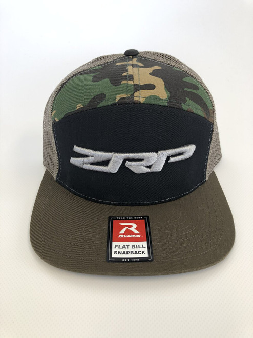 ZRP Snapback Hat - Camo / Black