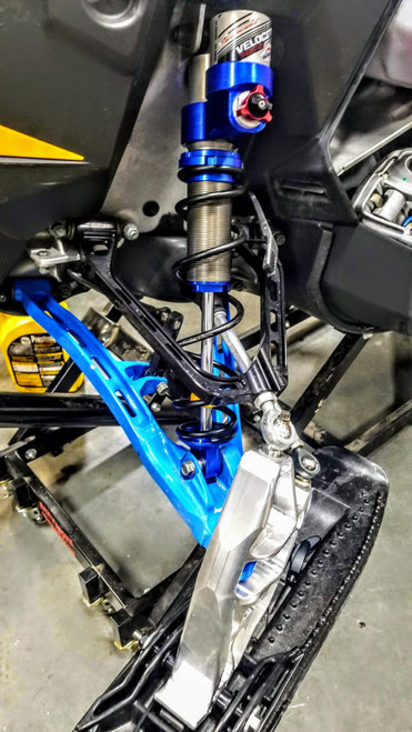 """ZRP React 37"""" Complete Front Suspension (A-Arms, Spindles, Shocks, Springs, Ball Joints)"""