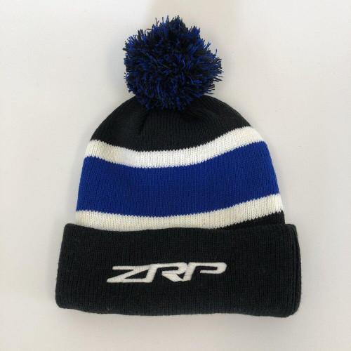 ZRP Pom Beanie Black / Blue