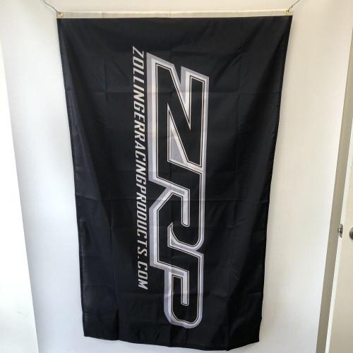 ZRP Flag 3x5 - Black
