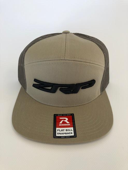 ZRP Snapback Hat - Khaki