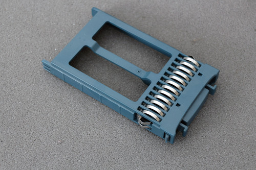 """Cisco Blue 376384-001 2.5"""" Hard Drive Blank Filler Dummy Caddy Proliant Chassis"""