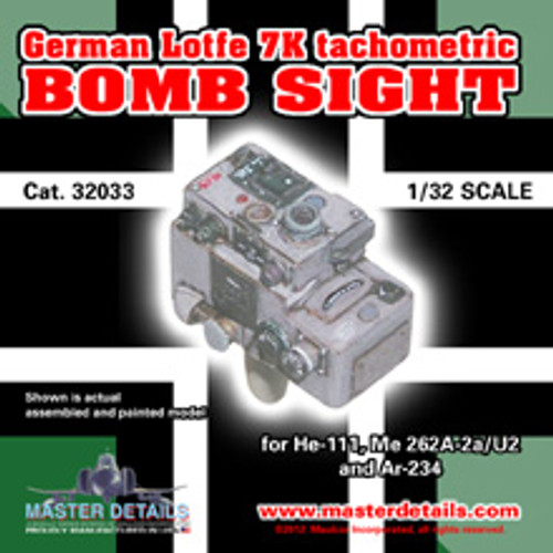 32033 - Lotfe 7K Tachometric Bomb Sight
