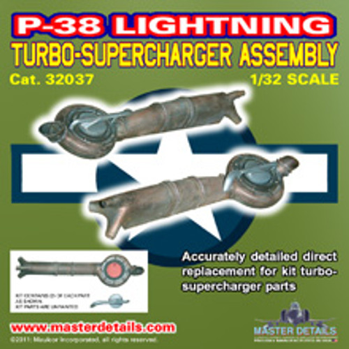 32037 - P-38 Lightning Turbo-Supercharger