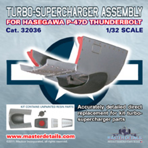 32036 - P-47D Thunderbolt Turbo-Supercharger