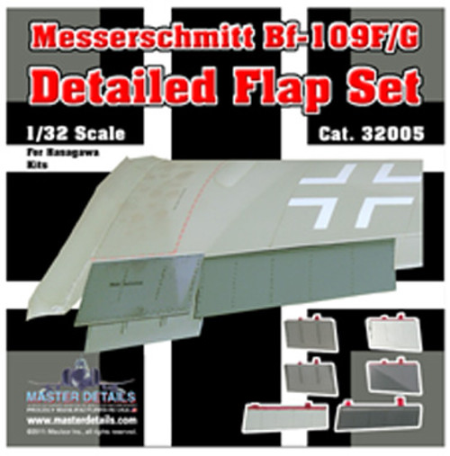 32005 - Messerschmitt Bf-109F/G Detailed Flap Set