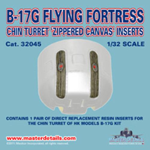 32045 - B-17G Chin Turret Inserts