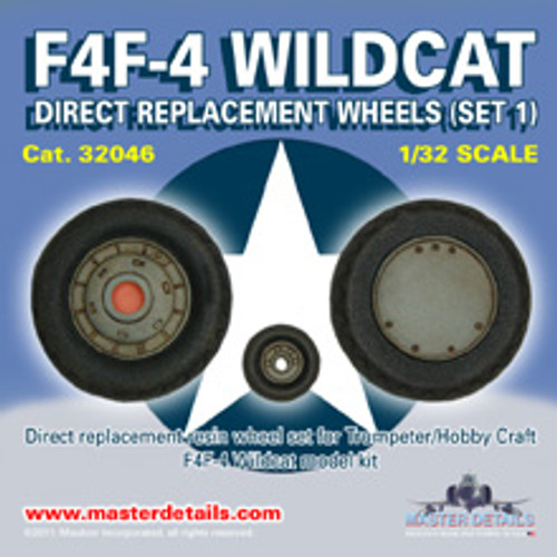 32046 - F4F-4 Wildcat Wheels