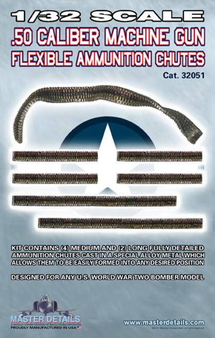 32051 - .50 Caliber Ammo Chutes