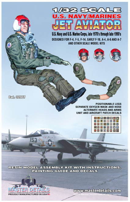 32007 - 1/32 U.S Navy/Marines Jet Aviator