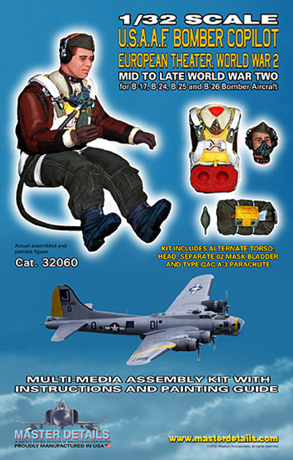 32060 - 1/32 U.S. Bomber Copilot European Theater
