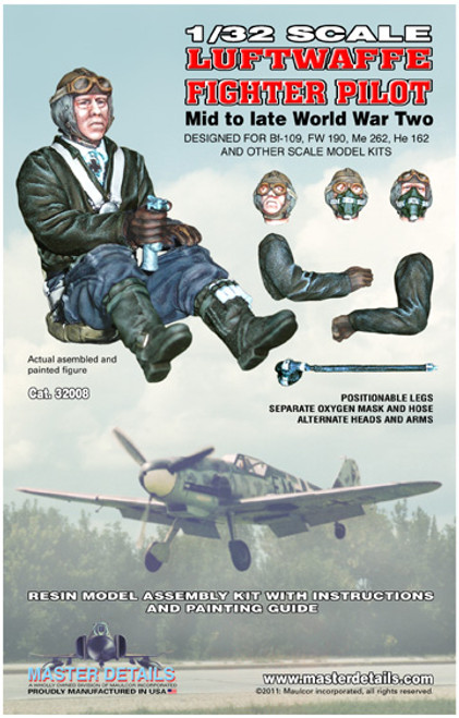32008 - 1/32 Luftwaffe Fighter Pilot