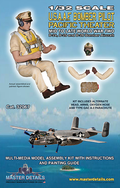 32067 - 1/32 USAAF Bomber Pilot Pacific Theater