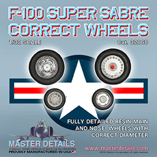 32068 - F-100 Super Sabre Wheels