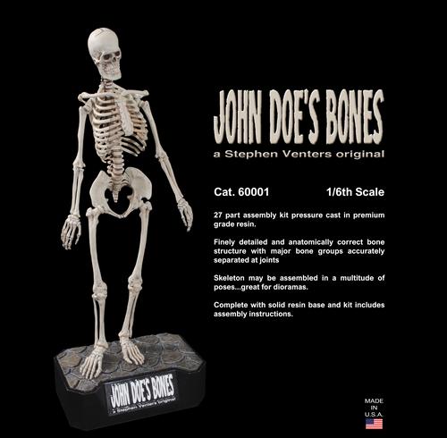 60001 - John Doe's Bones