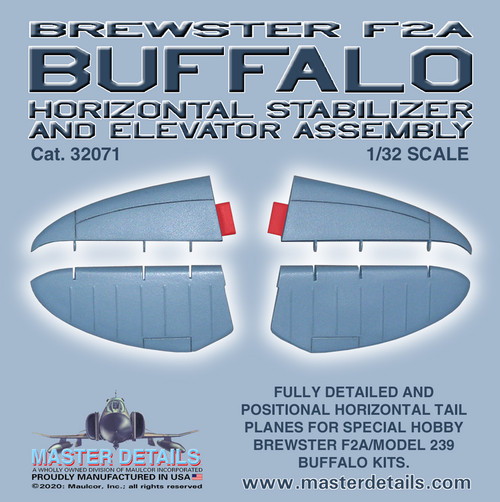 32071 - Brewster F2A Buffalo Horizontal Tail Assembly
