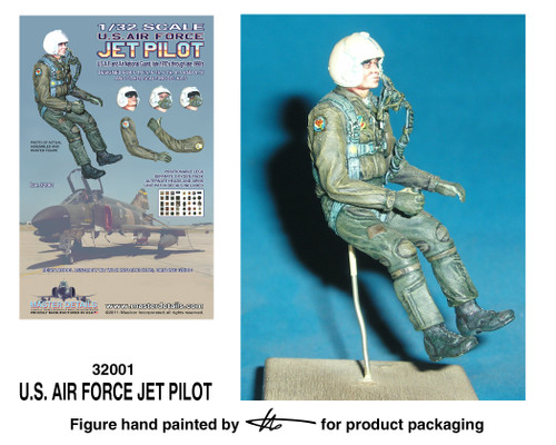 TFA 32001 U.S. Air Force Jet Pilot *Painted Master*