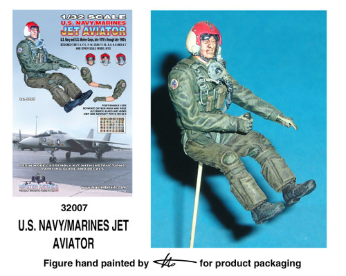 TFA 32007 U.S. Navy/Marines Jet Aviator *Painted Master*