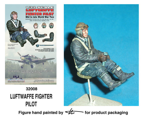 TFA 32008 Luftwaffe Fighter Pilot *Painted Master*