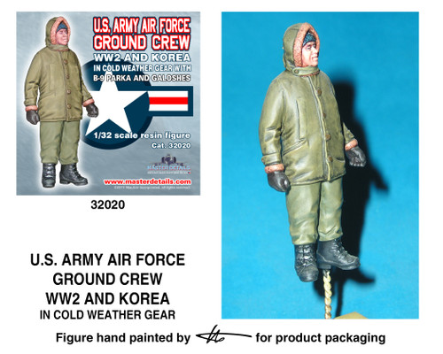 TFA 32020 U.S. Army Air Force Ground Crew WW2 and Korea *Painted Master*