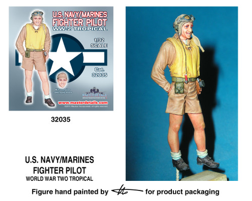 TFA 32035 U.S. Navy/Marines Tropical Standing Pilot *Painted Master*