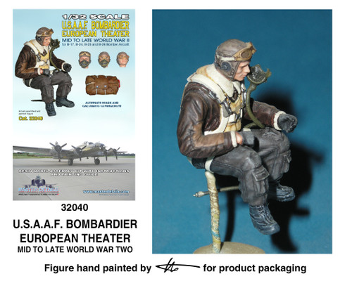 TFA 32040 U.S.A.A.F. Bombardier European Theater *Painted Master*