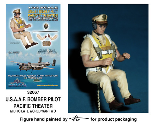 TFA 32067 U.S.A.A.F. Bomber Pilot Pacific Theater *Painted Master*