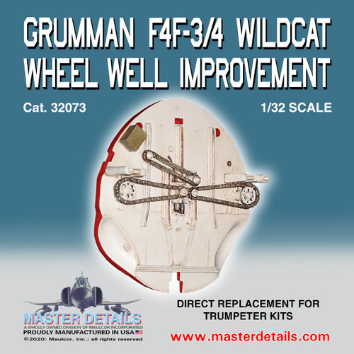 Grumman F4F-3/4 Wildcat Wheel Well Improvement