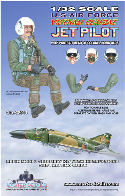 32014 - 1/32 U.S. Air Force Vietnam Combat Jet Pilot