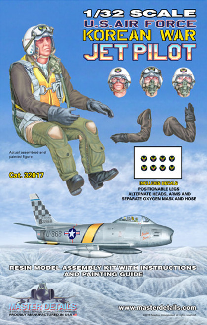 32017 - 1/32 U.S. Air Force Korean War Jet Pilot