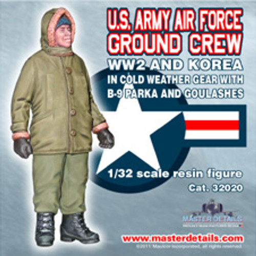 32020 - 1/32 U.S. Air Force WW2 and Korea Arctic Ground Crew