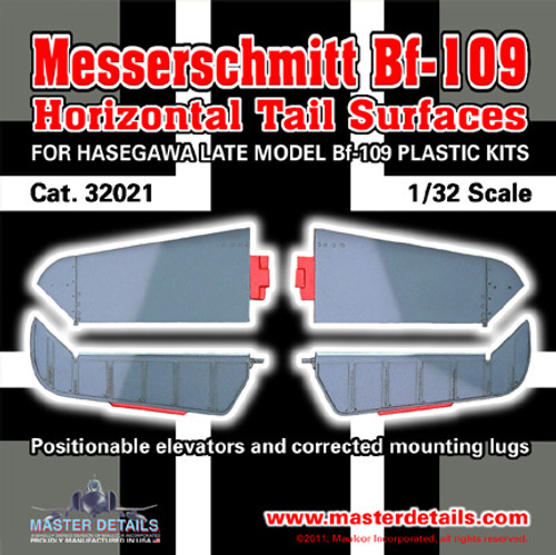32021 - Messerschmitt Bf-109 Horizontal Tail Surfaces