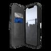 Raptic Urban Folio for iPhone 13 - Black