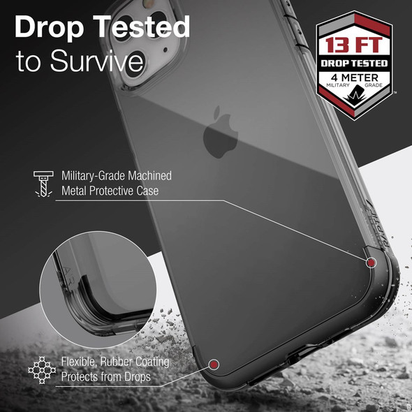 Raptic Air for iPhone 12 Pro Max - Smoke