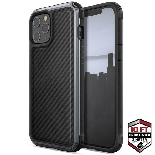 Raptic Lux for iPhone 12 Pro Max - Black Carbon Fibre