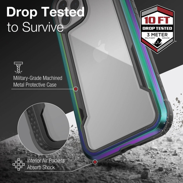 Raptic Shield for iPhone 12 Pro Max - Iridescent