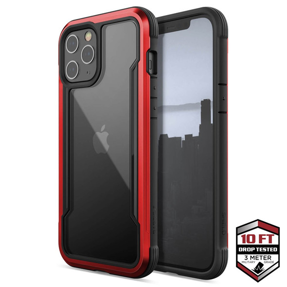 Raptic Shield for iPhone 12 Pro Max - Red