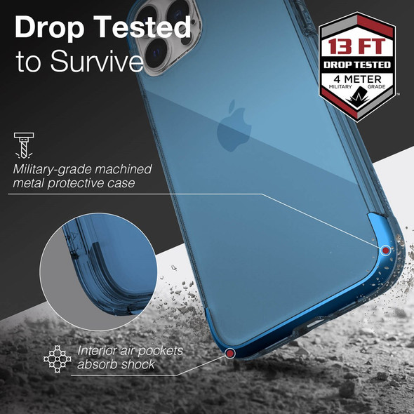Raptic Air for iPhone 13 Pro Max - Blue