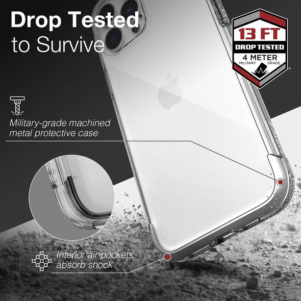 Raptic Air for iPhone 13 Pro Max - Clear