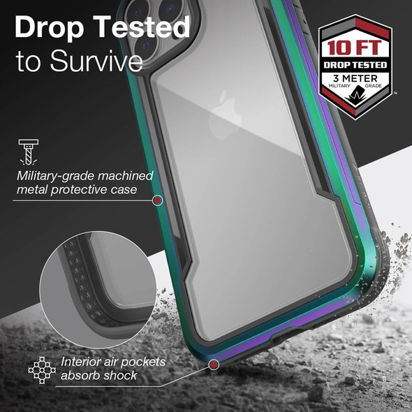 Raptic ShieldPro for iPhone 13 Pro Max - Iridescent