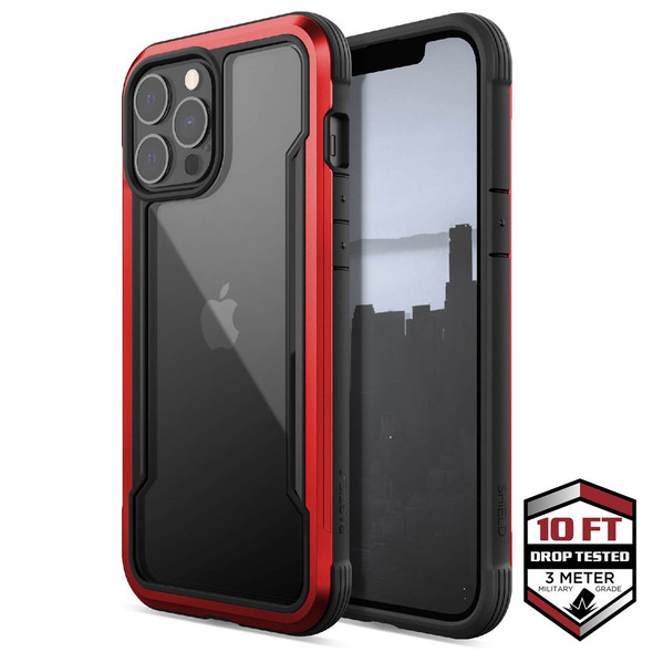 Raptic ShieldPro for iPhone 13 Pro Max - Red