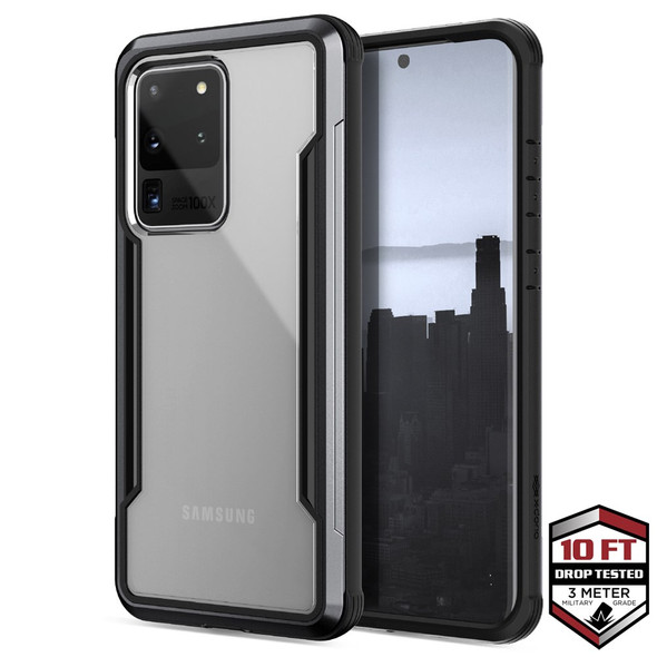 Raptic Shield for Samsung Galaxy S20 Ultra - Black