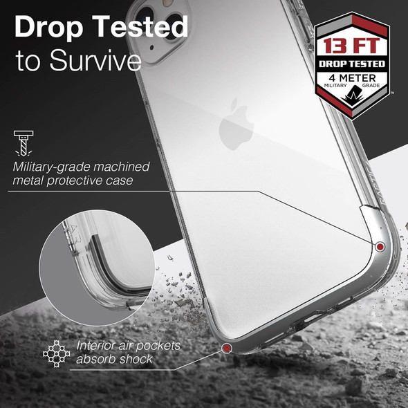 Raptic Air for iPhone 13 - Clear